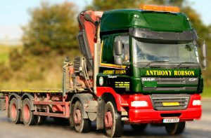 Heavy Lift Lorry Loader Hiab