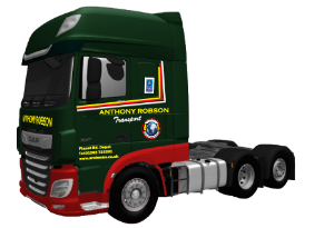 Euro VI DAF tractor units Robson Transport