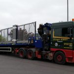 40ft Hiab load