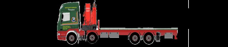 8 Wheeler Rigid Hiab Hire Vehicle