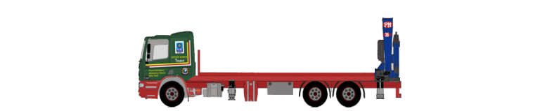 Rear-Mounted Hiab Hire Vehicle