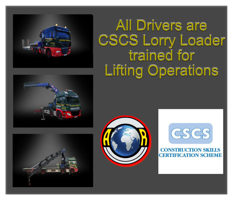 CSCS lORRY lOADER TRAINED OPERATIVES