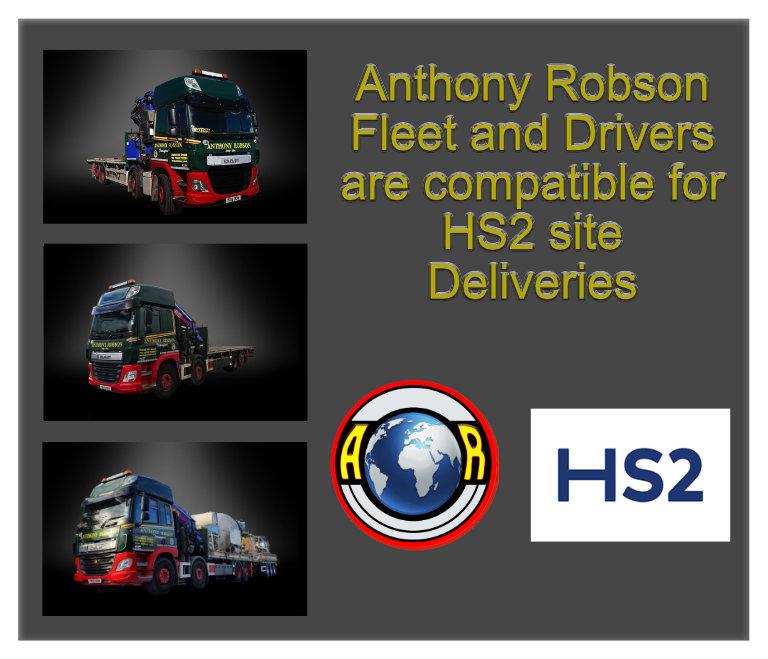 HS2 compliant vehicles
